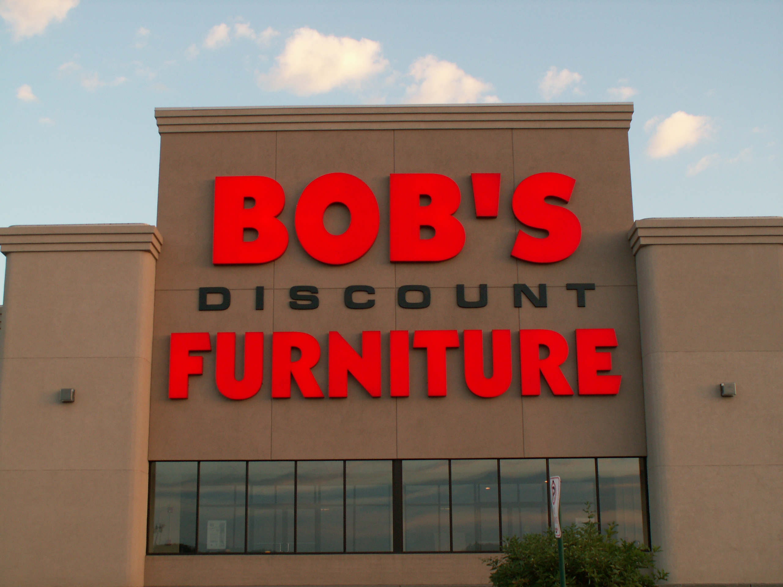 Bob project signs massachusetts for Inexpensive furniture stores